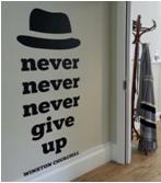 winston churchill wall quote