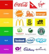 logos with different colouring